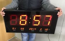 70 cm Digital LED Wall Clock Office Very Large Huge