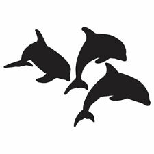 Pod of Dolphin Porpoise - Decal Sticker - Multiple Color & Sizes - ebn1309
