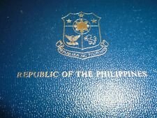 1980 Republic Of The Philippines Proof Set From Franklin Mint