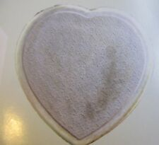 Fiberglass Concrete Textured Heart Stepping Stone Mold