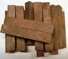 "Walnut Claro Figured (1 pc) Pen Blank 3/4""sq x 5"" - 1262"