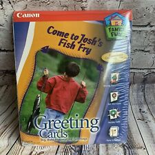 Canon Family Fun KIT Personalized Greeting Cards (M45)