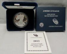 2012-W AMERICAN SILVER EAGLE PROOF