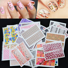 Set 10 pcs Decal Water Transfer Manicure Nail Art Stickers DIY Tips DecoratiECp