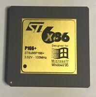 **WORKING** Microsoft Windows 95 ST6x86 P166 CPU Chip (NOS) 3.52V-133Mhz Canada