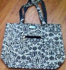 NEW Reversible 15 X 12 Vinyl Carryall Tote Handbag Purse Beach Bag BELLA RUSSO