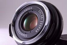 Voigtländer 35mm f/2.5 Color Skopar lens for Leica M