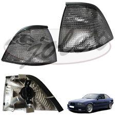 Blinker Blinkleuchte schwarz rechts+links Set Satz Paar BMW 3er Coupe Cabrio E36