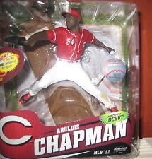 McFarlane MLB 32 Aroldis Chapman Cincinnati Reds Figur Baseball NEU