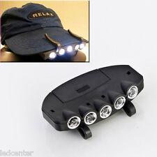 Lampe 5 LED clipsable sur casquette Head Light HeadLamp