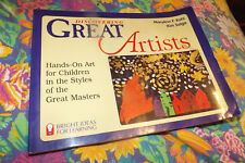 1997 teacher's art book: Discovering Great Artists; in great masters' styles