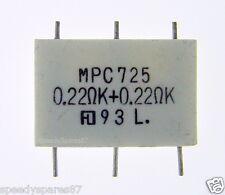 Genuine Sony Encapsulated Component Resistor 0.22 ohm + 0.22 ohm, 5W MPC725