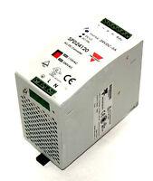 USED CARLO GAVAZZI SPD241201FP AC/DC CONVERTER 115/230VAC, 47-63HZ, 2.8/1.4A
