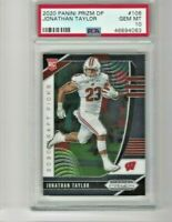 2020 Prizm Draft Picks Jonathan Taylor RC PSA 10 Gem Mint  Colts POP 7