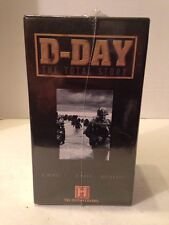 D-DAY The Total Story (VHS Box Set) World War II 2 WWII Approx 150 minutes