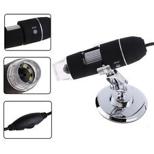 2MP Mega Pixels 8 LED USB Digital Microscope Endoscope Camera Magnifier 40X~800X