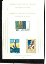 Two Uruguay Scott #C267a - Unesco The Nubian Monuments Sheets Mnh