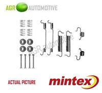 MINTEX REAR BRAKE SHOES SET FITTING KIT PIN SPRINGS GENUINE QUALITY - MBA780