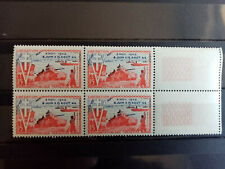 FRANCE.1954.N° 983. Anniversaire de la LIBERATION .NEUFS++ Bloc de 4 .Côte 12 €+