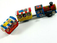 Vtg Dreamland Ichimura Tin Litho Wind Up Toy Train