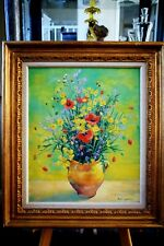 Listed Artist ~ Andre VIGNOLES (1920-2017) French Impressionist ~ Oil on Canvas