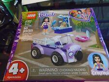 Case of 5 Sets LEGO Friends Emma's Mobile Vet Clinic Building Kit 2019 50 Pcs