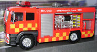 NEW TEAMSTERS EMERGENCY RED FIRE ENGINE LIGHT & SOUND DIECAST FLTLADD