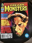 Freaky Monsters Magazine Issue #4..Famous Monsters Type Magazine