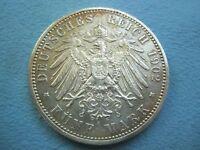 GERMANY Prussia 5 mark 1902 A XF Silver Preussen Berlin Wilhelm