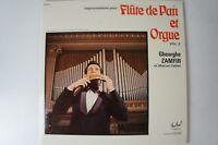 Flute de Pan et Orgue Vol 2 Gheorghe Zamfir et Marcel Gat Cellier FLD 617 LP29