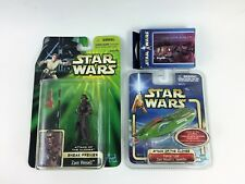 Star Wars AOTC toy LOT ZAM WESELL Action Figure Electronic Keychain Mini Puzzle
