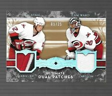 2005-06 Ultimate Collection Eric Staal And Cam Ward  Ultimate Dual Patches #5/25