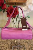 NWT THE SAK Magenta Pink Leather Meadow Small Bag (pu700