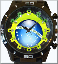 Bandeira do brasil Brazil New Trendy Sports Series Unisex Gift Watch