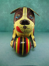 Vintage Blic PUSH AND GO DOG for COLLECTORS Made in China