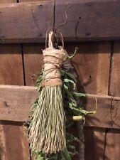 Primitive Grubby Broom Whisk Crumb Make Do Peg Hanger  Handmade Early Style