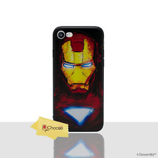 "3d Marvel Case/cover Apple iPhone 6 6s (4.7"") Screen Protector Silicone Iron Man"