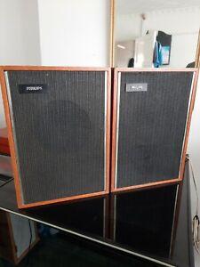 Vintage philips speakers