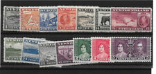 Newfoundland Mint - 1937 Omnibus and Long Coronation Issue complete