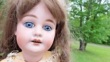 """BEAUTIFUL! 21"""" Antique BISQUE 1894 AM DEP FRENCH MARKET DOLL"""