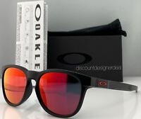 Oakley Stringer Sunglasses OO9315-09 Matte Black / Ruby Iridium Mirrored NWT