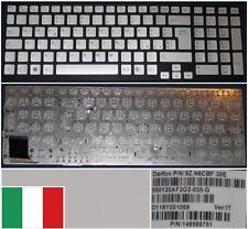 Teclado Qwerty Italiano SONY VAIO VPC-SE 550120AF2G2-035-G 9Z.N6CBF.30E