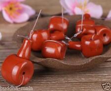 5pc Tibetan Southern red agate Guru Beads Loose Beads Handmade Necklace Charms