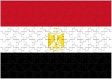 Egypt Flag A4 JIGSAW Puzzle Birthday Christmas Gift (Can Be Personalised)