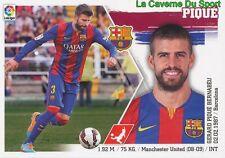 08 PIQUE  ESPANA FC.BARCELONA STICKER LIGA 2016 PANINI
