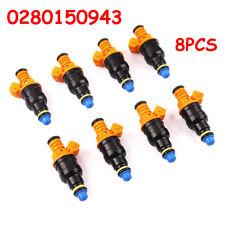 8pcs Fuel Injectors For Ford F150 F250 4.6 5.0 5.4 5.8 L V8 Replaces 0280150943