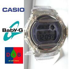 Casio BG-169R-6 Ladies Baby-G Telememo 25 Blue Digital Watch RRP £80 - USED Good