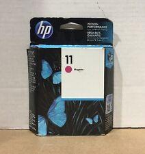 Genuine New HP 11 Magenta (C4837A) Sealed Ink Cartridge - OEM