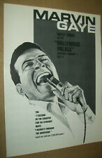 Marvin Gaye 1969 Ad- guest stars on The Hollywood Palace ABC-TV
