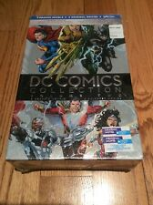 DC Comics Collection Vol 2: 4 Graphic Novels 4 Blue Ray DVD's Brand New Sealed